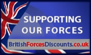 Army, Navy & RAF Forces Discounts
